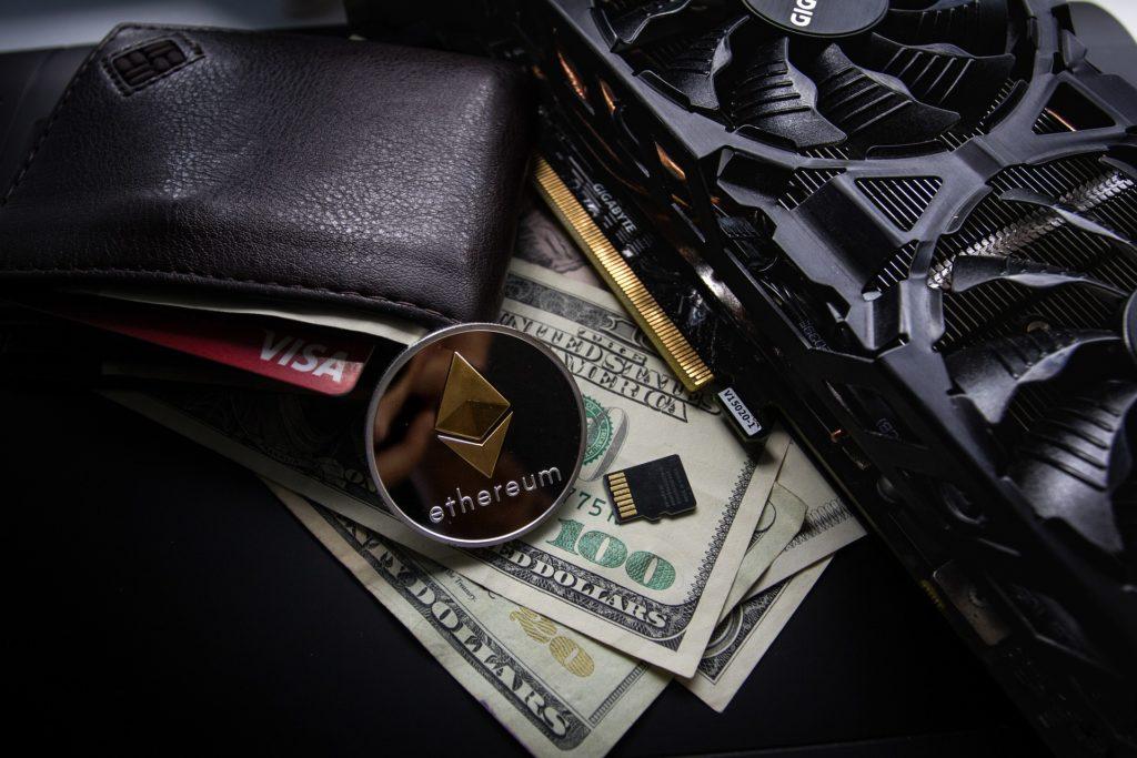 ethereum wallet kryptowährungen Portemonnaie geld geldscheine