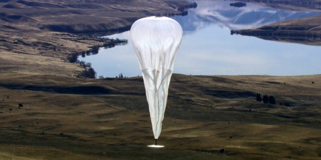Projekt Loon Darstellung eines Ballons